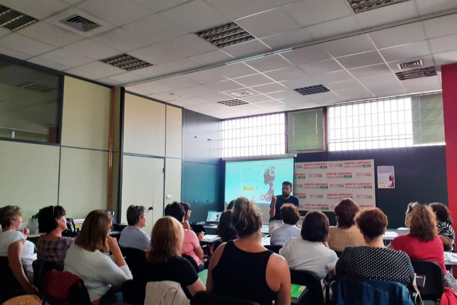 Jornada de Titularidad Compartida en Valladolid