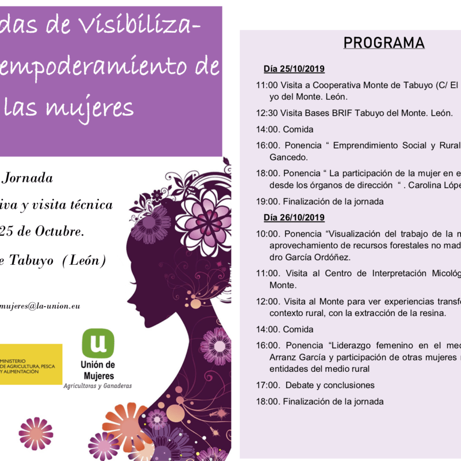 Jornadas de Visibilización y empoderamiento de  las mujeres